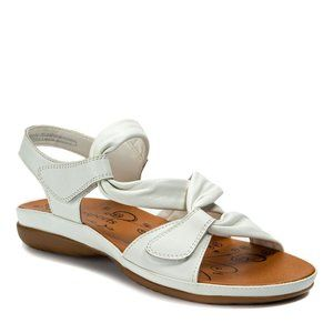 Ronsports Women's Sandal Softie White size 6